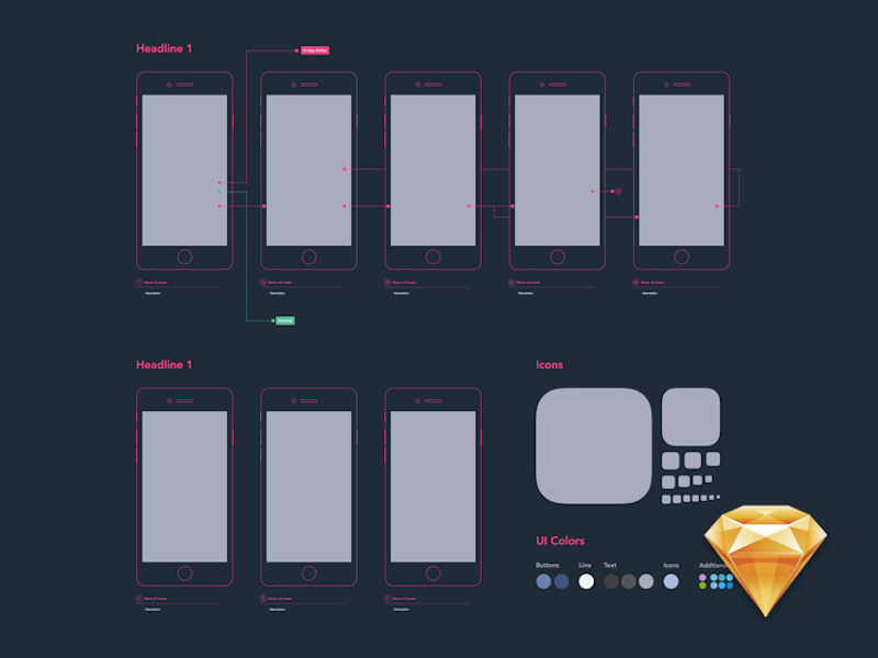 Remarkable Diagram Wireframe Template For Ux Design Psddd Co Wiring 101 Tzicihahutechinfo