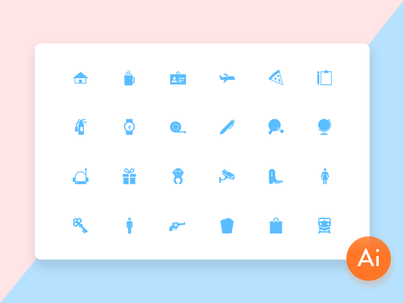 Mini Material Design Icon Sets
