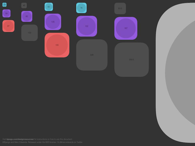 Bjango Free App Icon Templates