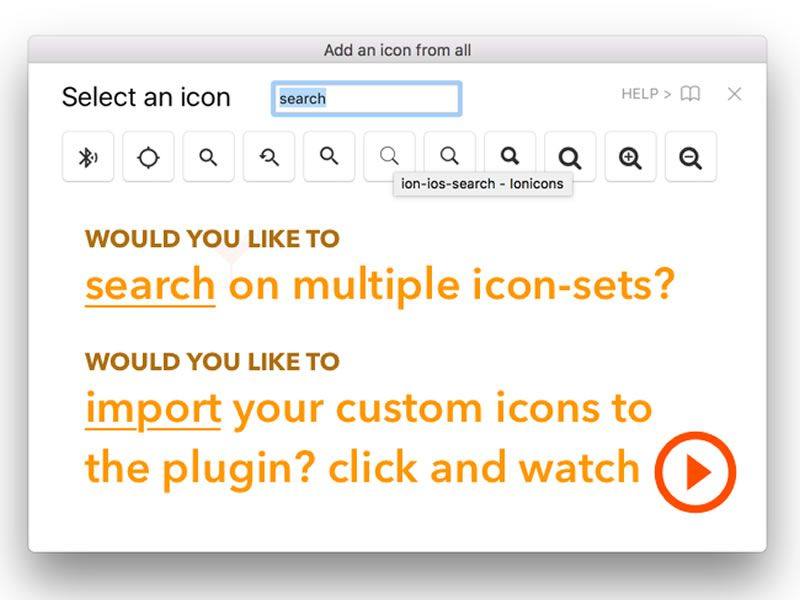 Icon Fonts in Sketch with the IconFont Plugin