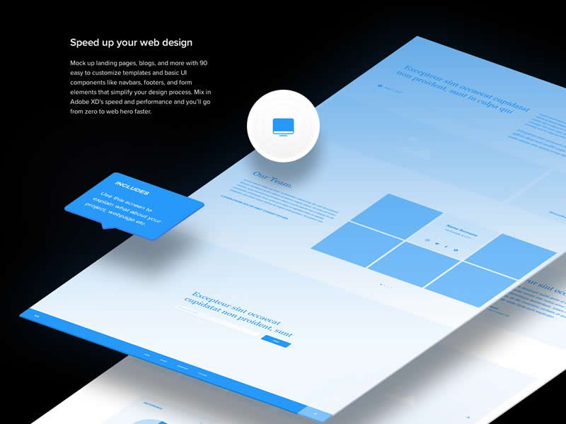 Wires Free Mobile & Web Wireframe Kits - PSDDD co