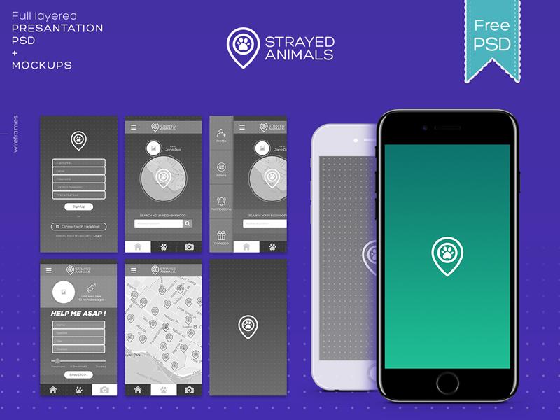 Free Mockup Templates for UI Designers