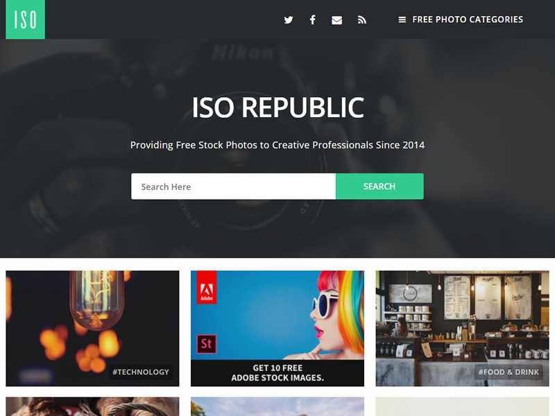 iso republic - 43 Free stock photo sites you should try