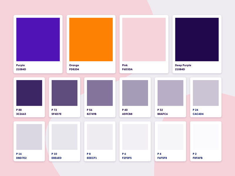 color templates
